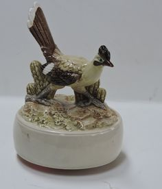 Your place to buy and sell all things handmade Home On The Range, Music Boxes, Vintage Music, Musicals, Porcelain, Hand Painted, Japan, Bird, Free Shipping