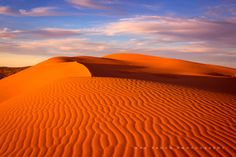 The iconic Queensland sand dune - Big Red.