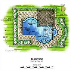 Pool Plans   Swimming Pool Design On Pinterest Swimming Pool Designs . Part 47