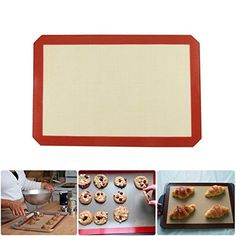 Non Stick Heat Resistant Silicone Baking Mat Kitchen Bakeware Pastry Liner Sheet >>> Visit the image link more details.
