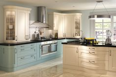 Oak Painted Kitchen Units