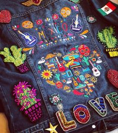 Denim Jacket Patches, Recycled Clothing, Pants, Jackets, Clothes, Fashion, Trouser Pants, Down Jackets, Outfits