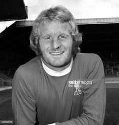 Sport Football England August 1974 Liverpool FC Photocall A portrait of Liverpool FC's Alec Lindsay