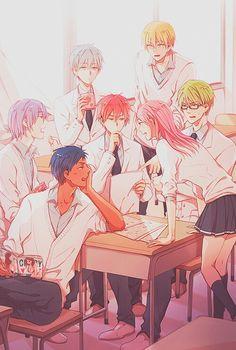 akashi seijuro   anime   aomine daiki   art   kise ryota   kiseki no sedai   knb   kurobasu   kuroko no basket   kuroko no basuke   kuroko tetsuya   midorima shintaro   momoi satsuki   murasakibara   seirin