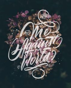 David Milan is an independent artist, illustrator and designer whose visual work includes typography, lettering and illustrations. Hand Lettering Tutorial, Hand Lettering Quotes, Types Of Lettering, Typography Quotes, Typography Inspiration, Typography Letters, Brush Lettering, Lettering Design, Typography Prints