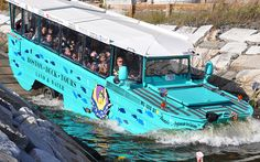 Boston Duck Tours takes you around the city and into the Charles River. A fun way to see Boston and learn some history about the city.