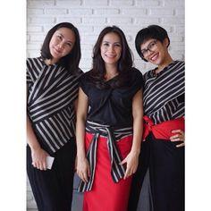 Lurik Batik Kebaya, Kebaya Dress, Batik Dress, Kimono, Batik Fashion, Ethnic Fashion, Womens Fashion, Ethnic Looks, Blouse Models