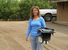 Gry, Herd Manager Extraordinaire and Champion Barrel Racer