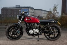 ϟ Hell Kustom ϟ: Honda CB650Z By Outsiders Motorcycles