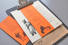 Mezzet Dar Menu by Guillotina Estudio