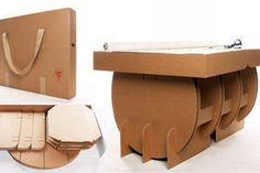 Lazerian Studio - I thought I had seen the last of cardboard furniture, but I'm glad to say that is not the case, thanks to Lazerian Studio. The studio has crea...