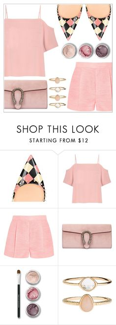 """""""Fsjshoes"""" by simona-altobelli ❤ liked on Polyvore featuring T By Alexander Wang, STELLA McCARTNEY, Gucci, Bare Escentuals, Accessorize and fsjshoes"""