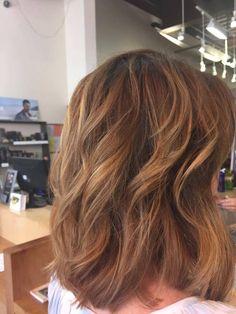 This warm color feels just right for summer. ☺️☀️  Hair by Hannah | Orange Beach | #FusionSpaSalonAveda http://fusionspasalonaveda.com/