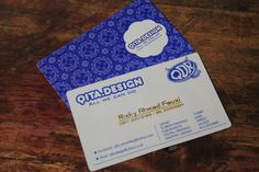 "Name Card ""Qita Design"""