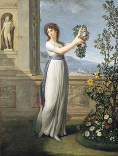 Josepine Bonaparte -  Andrea Appiani 1796.