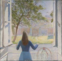 Girl at a Window Balthus (Balthasar Klossowski)