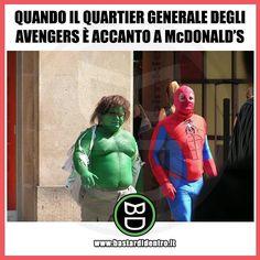 Fame? #bastardidentro #perfettamentebastardidentro #avangers #spiderman www.bastardidentro.it