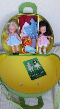 Lotto bambole mini Furga Lisa e Lucia con la borsetta da viaggio | Jouets et jeux, Poupées, vêtements, access., Poupons et accessoires | eBay!