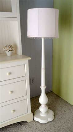 Beautiful detail on this floor lamp