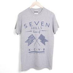 XCVB - Flags Grey    #streetwear #tees  #fashion #menswear #summer #independent #clothing #designer #hiphop #skateboarding