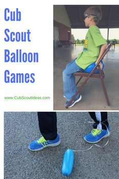 3 Fun Balloon Games Your Cub Scouts Will Love Even if these Cub Scout balloon games weren't on your den meeting plan, you can use them if the boys get restless and need to do something active. They also make great Cub Scout gathering activities. Cub Scout Skits, Cub Scout Games, Cub Scout Activities, Activities For Boys, Fun Games For Kids, Primary Activities, Balloon Games For Kids, Kids Camp, Kid Games