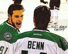 Dallas Stars Captain Jamie Benn & Tyler Seguin