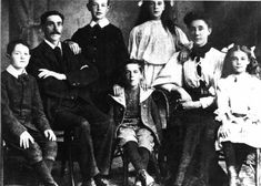 The Titanic: The Goodwin Family of 8 Died on the Ship. On April 1912 Frederick and Augusta Goodwin and their six children all boarded the new ship the Titanic at Southampton in England. They were third class passengers on its maiden voyage to New York.