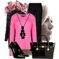 """Mas fuxia"" by marcemi on Polyvore"