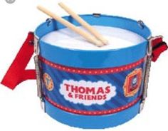 Kids Boys Thomas the train Tank Engine tin drum toy gift NIB  | eBay