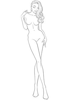 New fashion model poses illustration figure drawing ideas Fashion Figure Templates, Fashion Design Template, Design Templates, Drawing Templates, Body Sketches, Drawing Sketches, Sketching, Fashion Design Drawings, Fashion Sketches