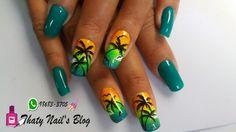 Nails coqueiro unhas decoradas