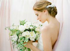 EVERLY pearl bridal headpiece