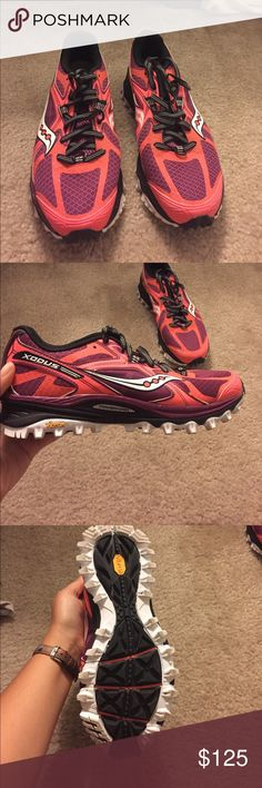 Saucony Trail Running Shoes Used once! Shoes Sneakers