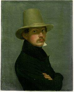 Eduard Daege (1805–1883) - Self-portrait.