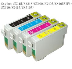 8.46$  Watch here - http://alionb.shopchina.info/go.php?t=1991512646 - 89/71 T0711-T0714 T0715 compatible ink cartridge for EPSON Stylus SX215/SX218/SX400/SX405/SX405WiFi/SX410/SX415/SX510W printer 8.46$ #magazine