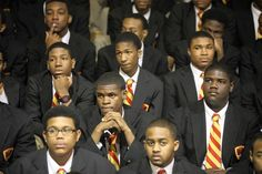 Urban Prep Academy for Young Men... 3 years in a row, 100% of graduating class accepted to college!!!