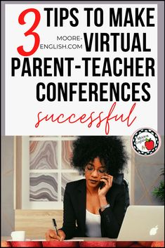 Virtual parent-teacher conferences come with the territory of distance learning and remote teaching. However, there are lots of great ways to make these conferences work for you, your students, and their families. Consider these strategies for engaging families, scheduling appointments, and working smarter, not harder with the help of technology! #conferences #parentteacher #parentteachernight #parentteacherconferences #conferencenight Middle School Teachers, Parents As Teachers, New Teachers, Parent Teacher Conference Forms, Parent Teacher Conferences, Teaching Reading, Learning, Teaching Ideas, Parent Contact