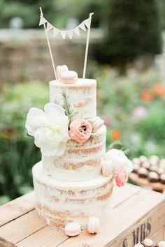 Image by Katy Melling Photography - Temperley London Wedding Dress Wedding Cake Rustic, Rustic Cake, Beautiful Wedding Cakes, Beautiful Cakes, Cake Wedding, Wedding Music, Nake Cake, Cake Cover, Wedding Cake Inspiration