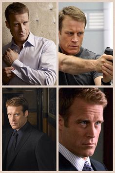 Mark Valley (o.a Human Target) typischAmerikaans