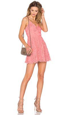 NBD Give It Up Dress em Pink Sorbet | REVOLVE
