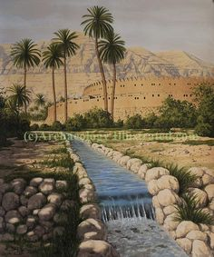 Bible Images and Biblical Archaeology Illustrations by Balage Balogh Ancient Art, Ancient Egypt, Ancient History, Turm Von Babylon, Walls Of Jericho, Heiliges Land, Sermon Illustrations, Ancient Discoveries, The Bible Movie