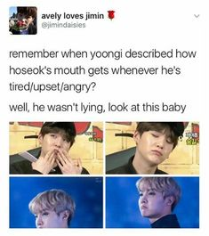 Cause Yoongi knows his boy