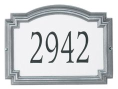 Whitehall Products Estate Williamsburg Rectangle Reflective Aluminum Address Plaque by Whitehall. $188.99. For nearly 70 years, Whitehall Products has been crafting personalized name and Aluminum Address Plaques to provide a distinctive finishing touch to millions of homes. Renown as the world's largest manufacturer of personalized name and Aluminum Address Plaques, Whitehall Products's reputation for quality and reliability is unsurpassed. Few products can add as ...