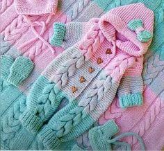 DIY Enterizo para bebé tejido a crochet