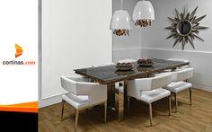 Protección para las ventanas de tu hogar o negocio. www.cortinas.com Dining Table, Furniture, Home Decor, Shades, Windows, Business, Home, Homemade Home Decor, Diner Table