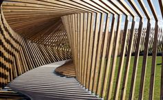 Denmark's EKKO Pavilion Records the Voices and Footsteps of Vi...