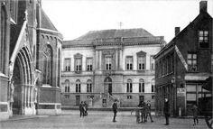 045 Gemeentehuis en Kantongerecht 1900 Markt Tilburg