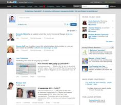 New format size images status updates - LinkedIn New design 2012