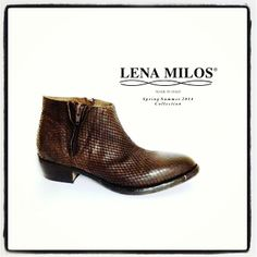 #beautiful #vintage #boots for #springsummer #2014 by #lenamilos !! #musthave #leather #true #original #fashion #brand now in #boutique
