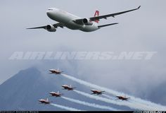 Swiss International Air Lines.  Airbus A330-343.